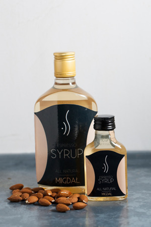 ALMOND ESPRESSO SYRUP FOR COFFEE 500 ML