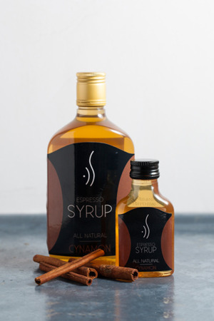CINNAMON ESPRESSO SYRUP FOR COFFEE 500 ML