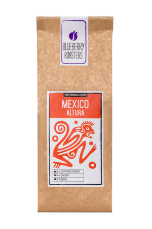 COFFEE BEANS MEXICO ALTURA 100G