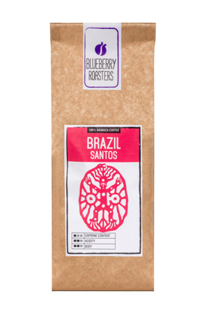 Coffee ground Brazil Santos 100 g