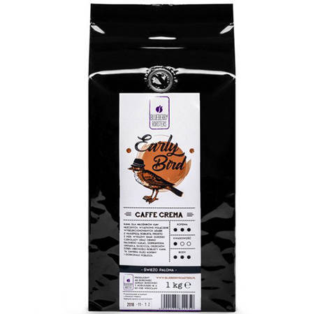 EARLY BIRD CAFFE CREMA 1KG FOR DAIRY COFFEE