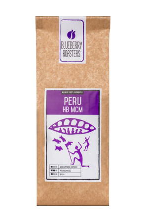 GROUND COFFEE PERU HB MCM 100% ARABICA 100G