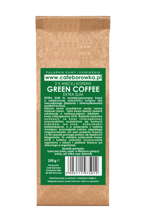 GROUND TOFFI FLAVORED COFFEE EXTRA SLIM 250G DETOX