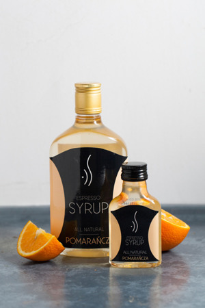 ORANGE ESPRESSO SYRUP FOR COFFEE 500 ML